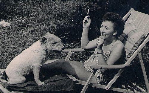 MamaSunbathing 1952